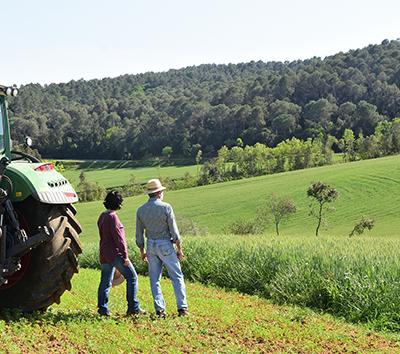Farmers preserve environment